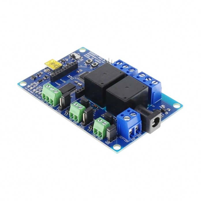 [NER-16639] SMART-RELAY(CH2) (2CH USB/Wireless Relay Module)